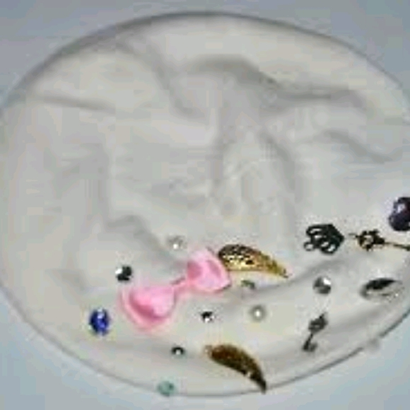 White Baret with jewels NWOT